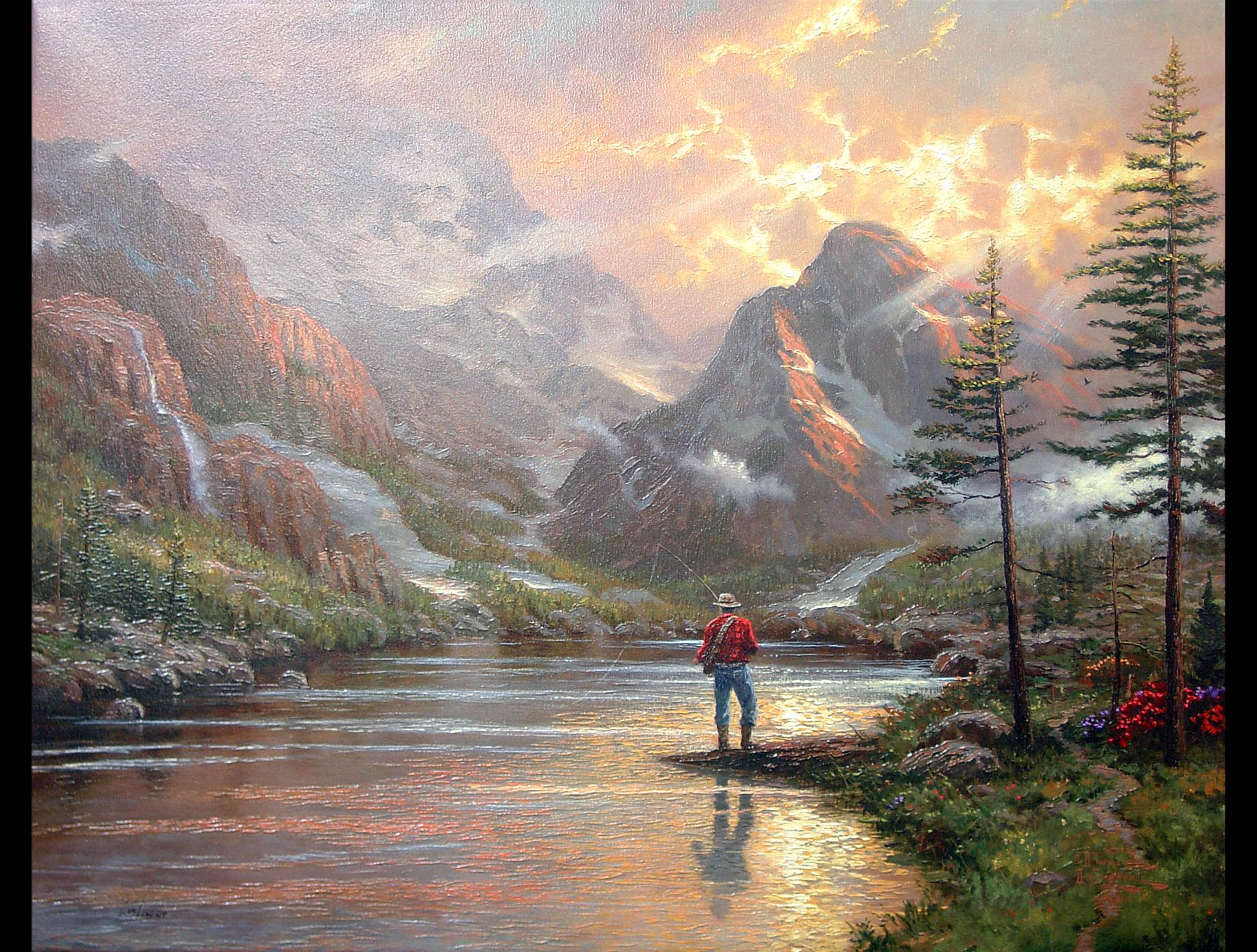 Thomas Kinkade - Almost Heaven