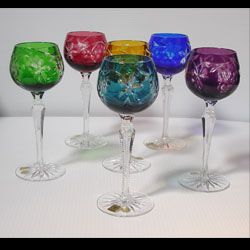 Caesar Crystal - Grapes Wine Goblets