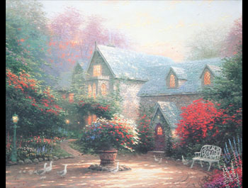 Thomas Kinkade - Blessings of Spring