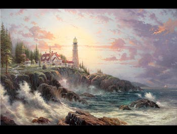 Thomas Kinkade - Clearing Storms