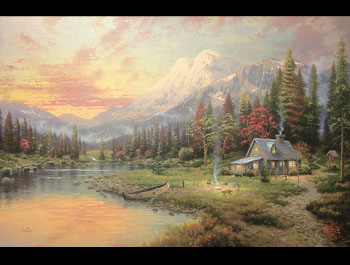 Thomas Kinkade - Evening Majesty
