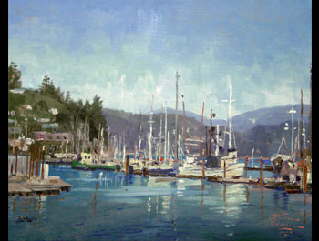 Thomas Kinkade - Newport Harbor
