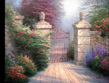 Thomas Kinkade - Open Gate