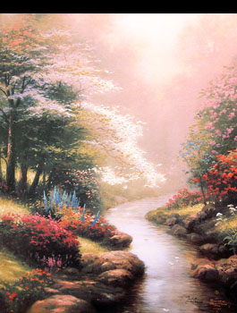 Thomas Kinkade - Petals of Hope