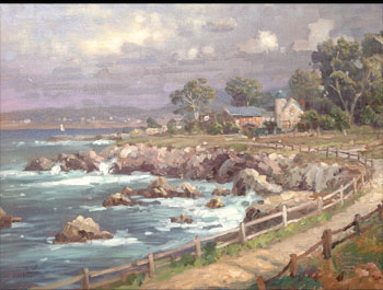 Thomas Kinkade - Seaside Village