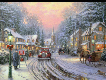 Thomas Kinkade - Season of Giving