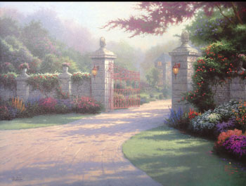 Thomas Kinkade - Summer Gate