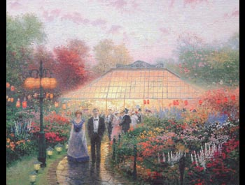 Thomas Kinkade - Garden Party