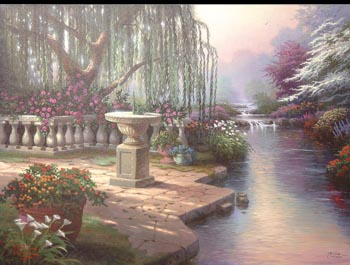 Thomas Kinkade - Hour of Prayer