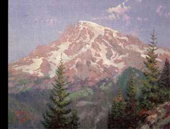 Thomas Kinkade - Mount Rainier