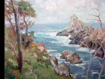 Thomas Kinkade - Point Lobos Carmel