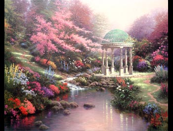 Thomas Kinkade - Pools of Serenity