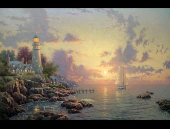 Thomas Kinkade - Sea of Tranquility