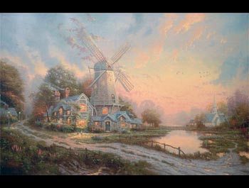 Thomas Kinkade - Wind of the Spirit