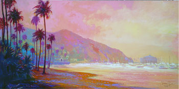 Simon Bull - Morning Haze, Catalina